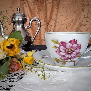 porcelán teás készlet