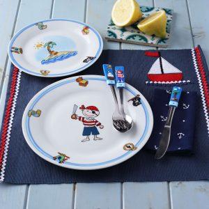 tengerész étkészlet